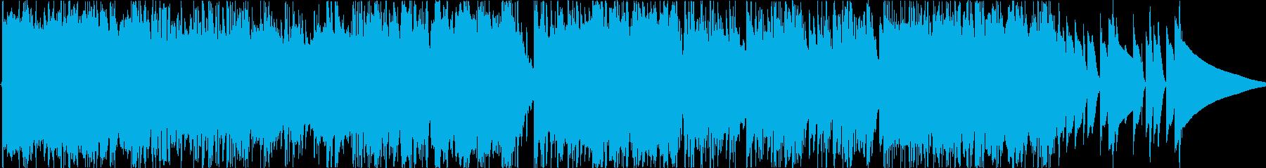 時空間をさまようエレクトロ・ポップの再生済みの波形
