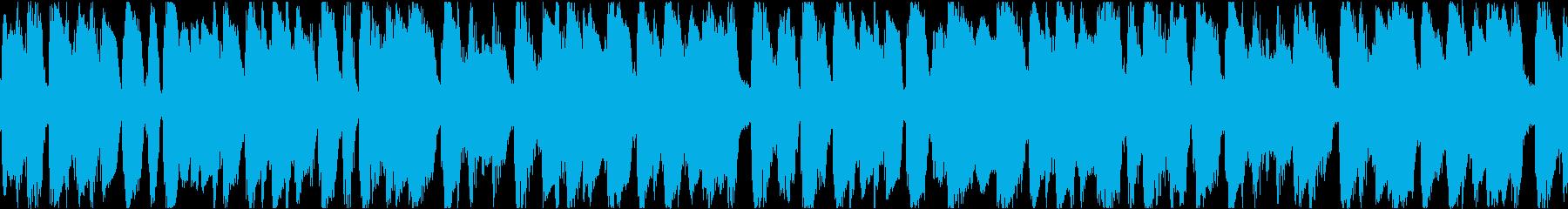 【ジャズ】ショートループ【映像】の再生済みの波形