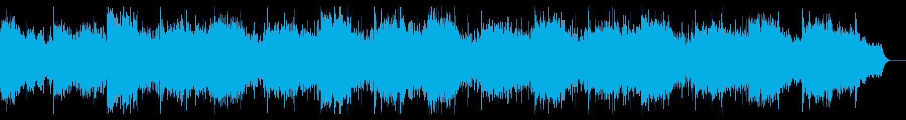 怪しくダークなテクスチャの再生済みの波形