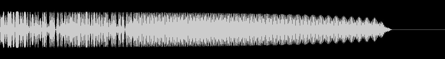 ピロロー(超音波/SNES/レトロの未再生の波形