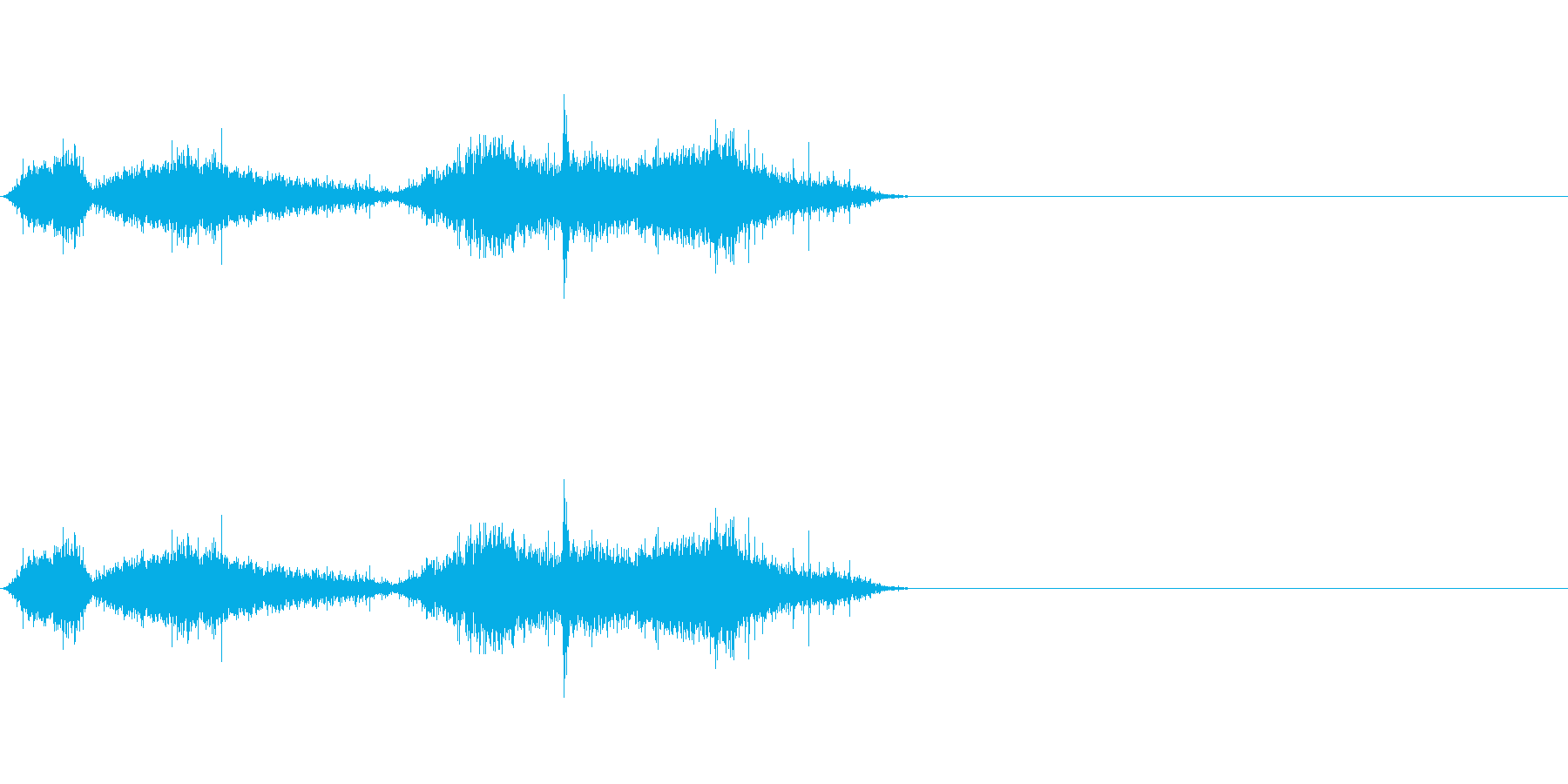 布団_布団の中で動くの再生済みの波形
