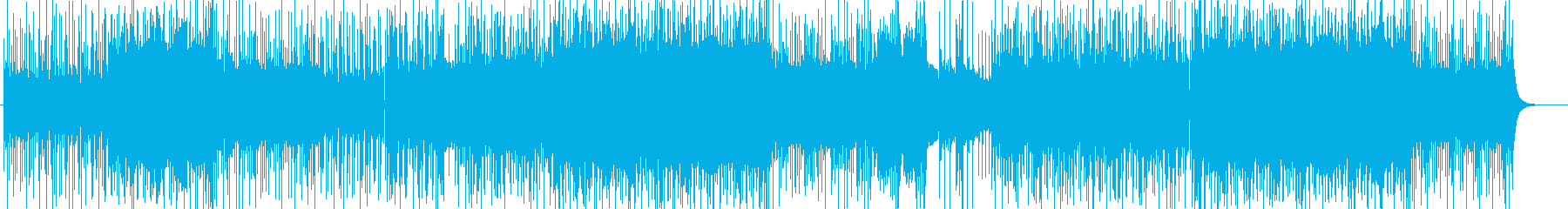 「POWER/ROCK」BGM331の再生済みの波形