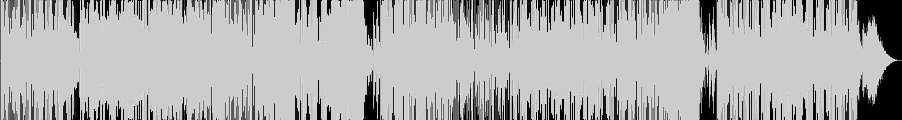 お洒落なダンサブルポップソングの未再生の波形