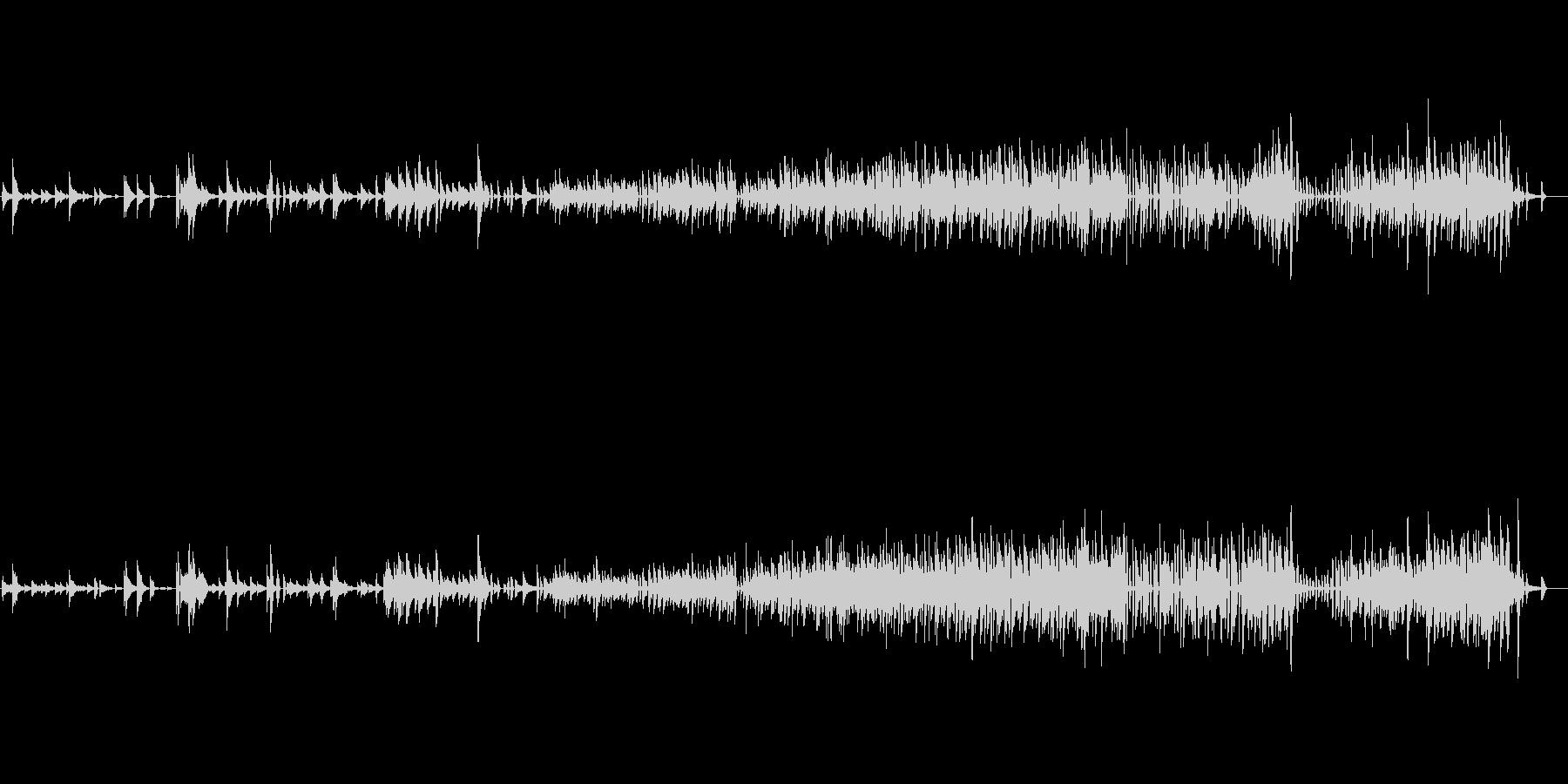 生ピアノソロ・クリスマス・ジャズアレンジの未再生の波形