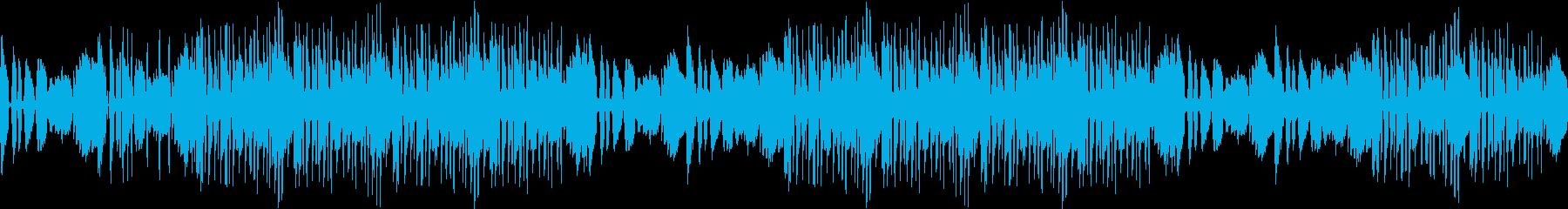 ギター・センチメンタル・爽やか・ループの再生済みの波形
