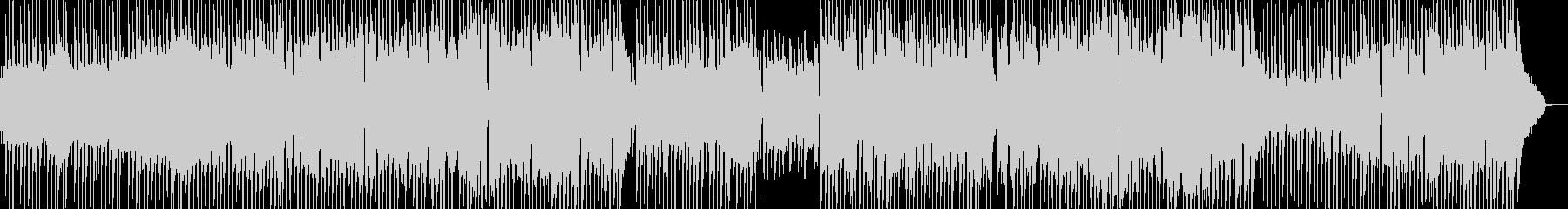 日常的・ほのぼの打楽器ポップス 長尺の未再生の波形
