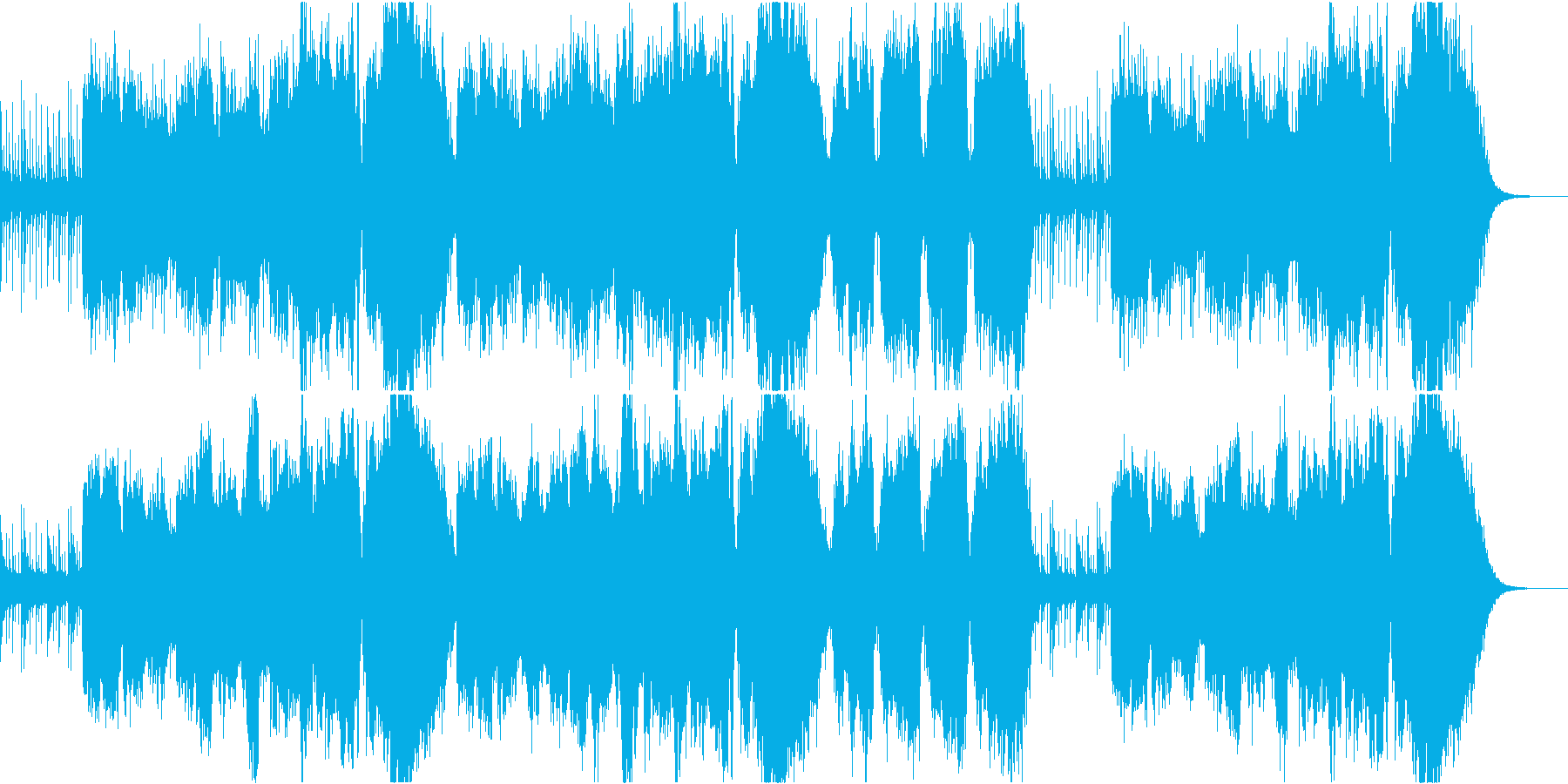尺八が奏でる感動的なバラードの再生済みの波形