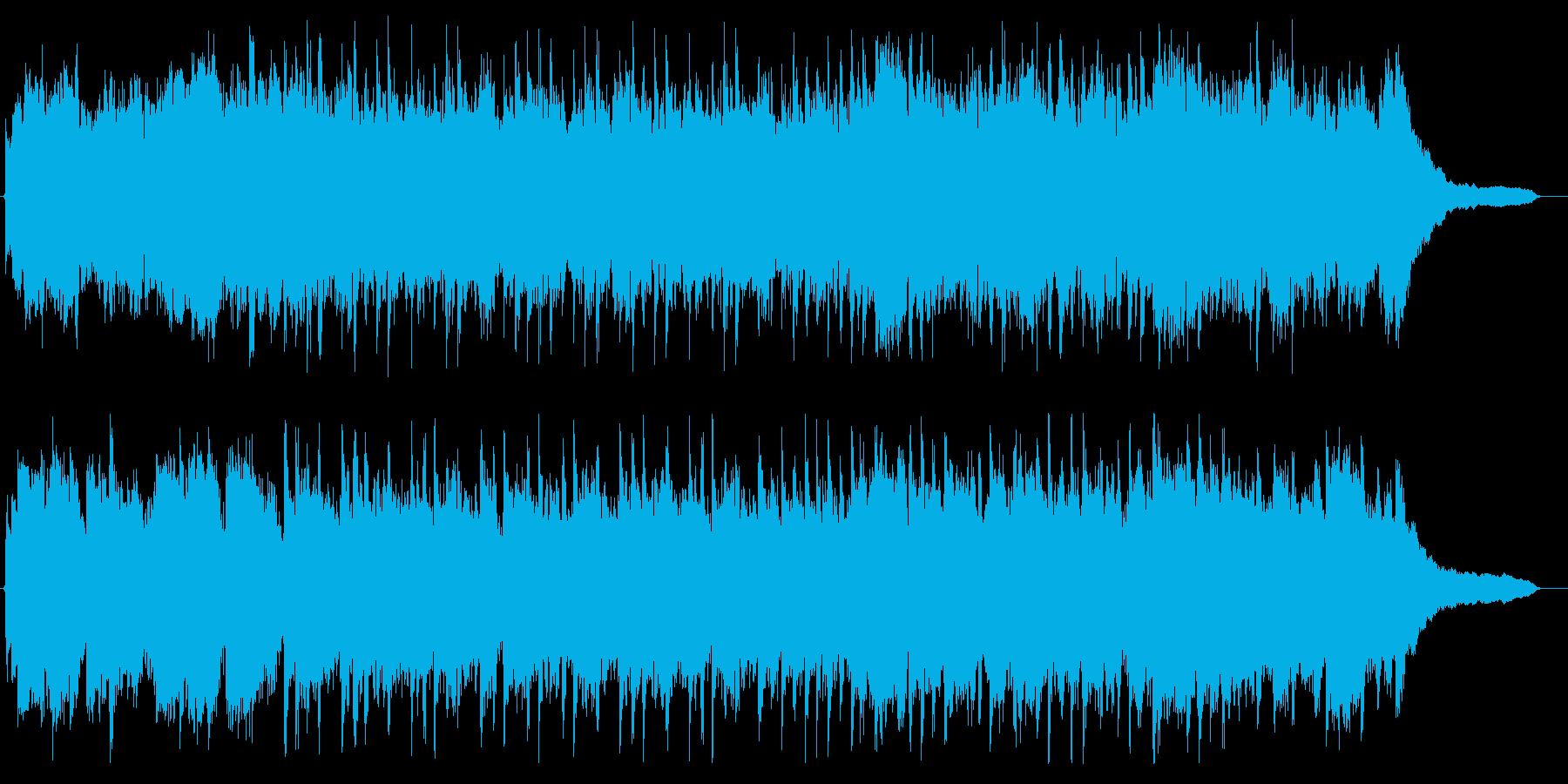 美しいピアノ&感動的なストリングスの再生済みの波形