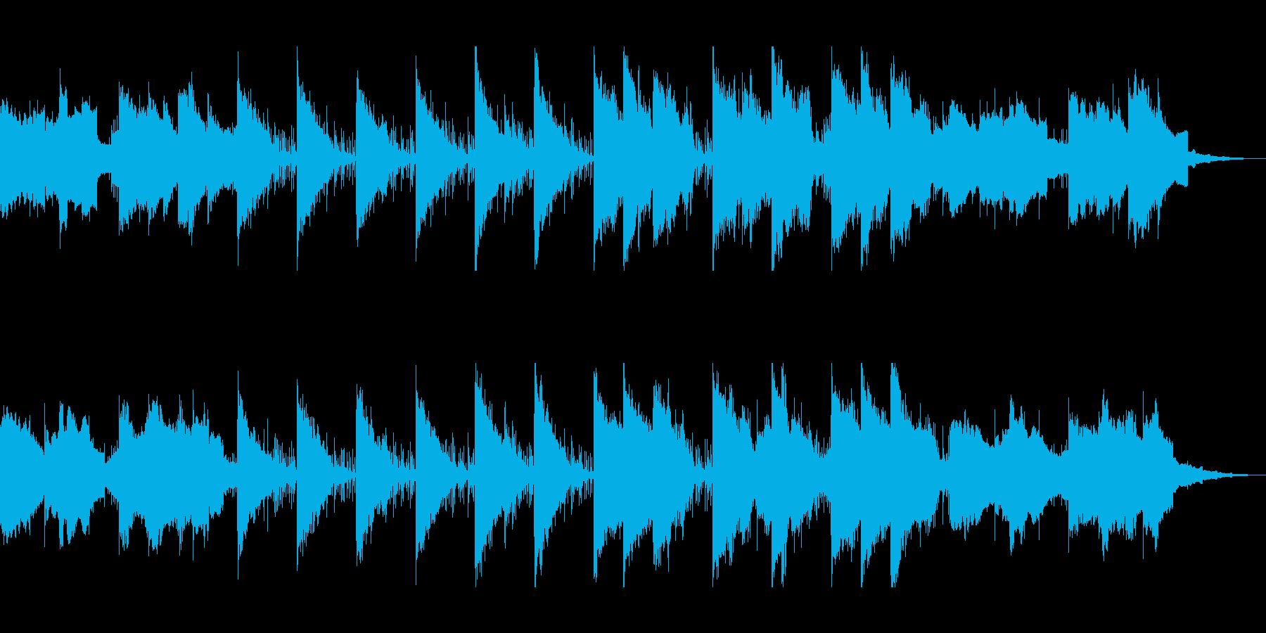 透明感のあるおしゃれなテクノ系シンセの再生済みの波形