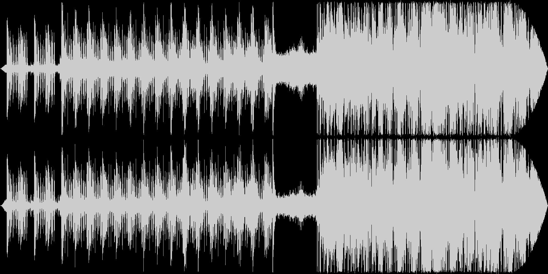 コード、エネルギッシュなフラッシュ...の未再生の波形