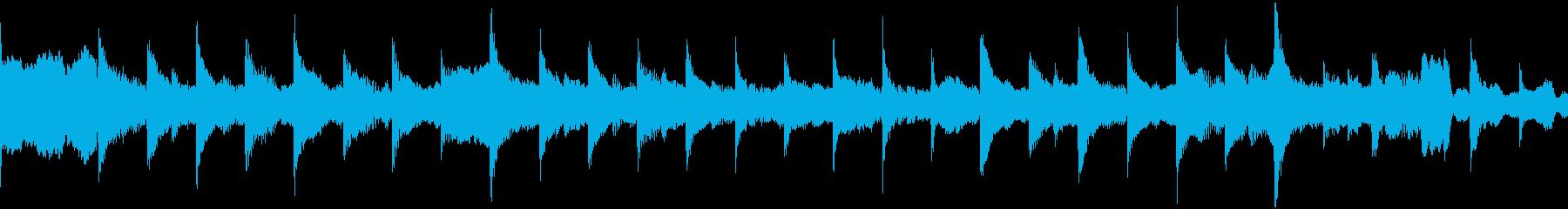 ループ仕様SF精霊召喚風BGMの再生済みの波形