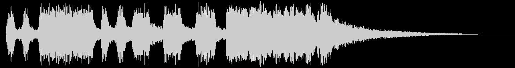 トランペット&トロンボーンファンファーレの未再生の波形