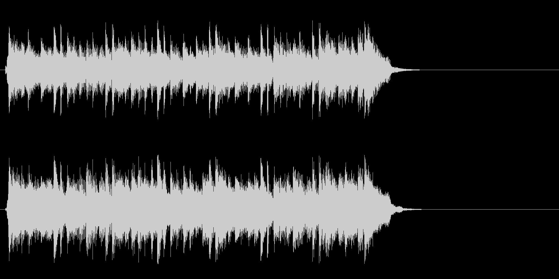 ポップ アコースティック(イントロ)の未再生の波形