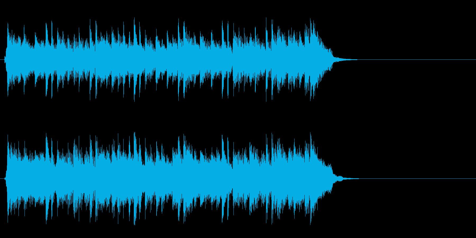 ポップ アコースティック(イントロ)の再生済みの波形