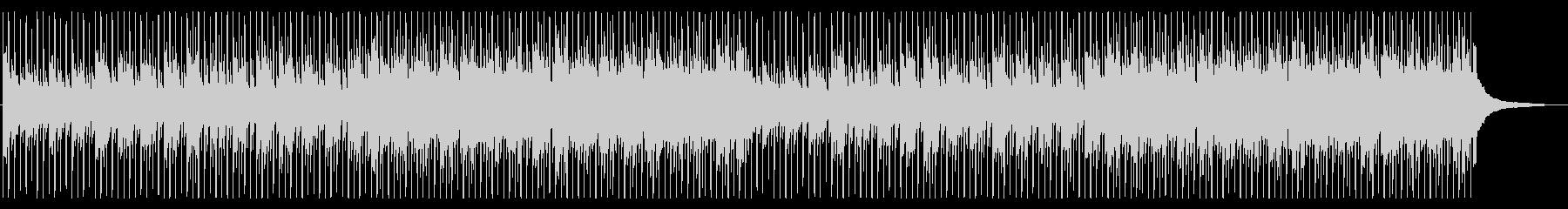 企業VPやCMに!爽やか4つ打ちピアノの未再生の波形