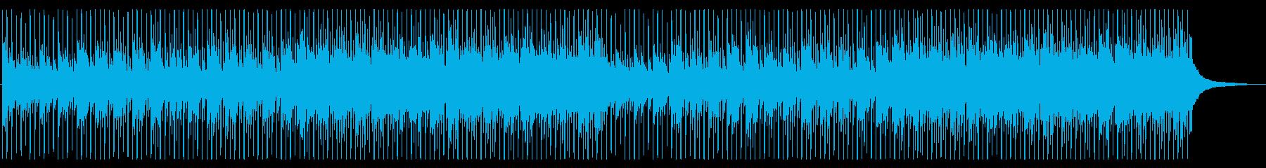 企業VPやCMに!爽やか4つ打ちピアノの再生済みの波形