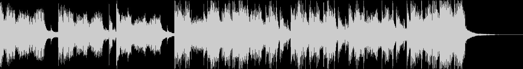 おしゃれクールセクシーR&Bエレクトロdの未再生の波形