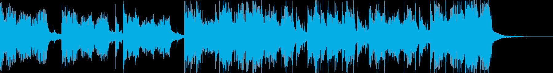 おしゃれクールセクシーR&Bエレクトロdの再生済みの波形