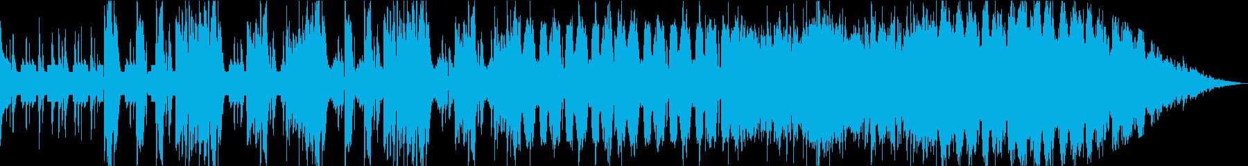 堂々パワフルなテクノの再生済みの波形