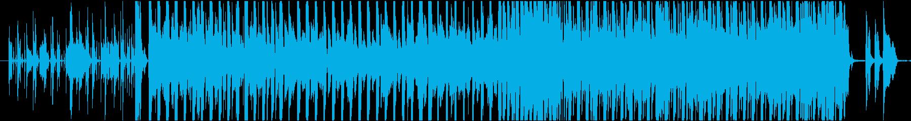 ファンク アクティブ 明るい ワイ...の再生済みの波形