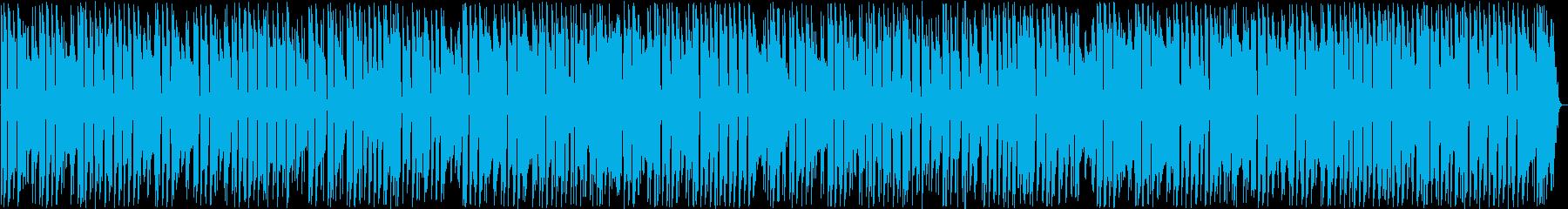 時の流れを感じさせるアコギ指弾き曲の再生済みの波形