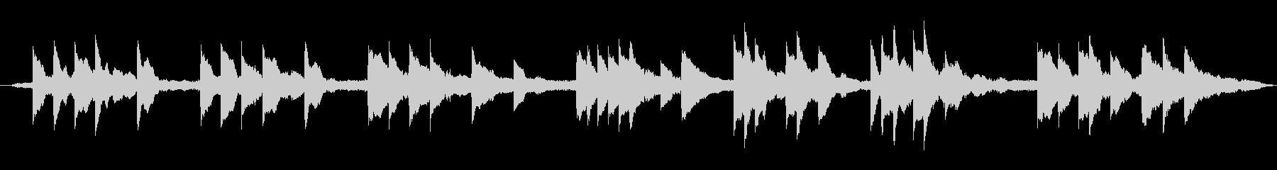 アコースティックピアノとアコーステ...の未再生の波形