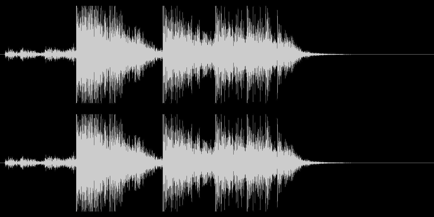 【生録音】ブリキのバケツの音 学校 7の未再生の波形