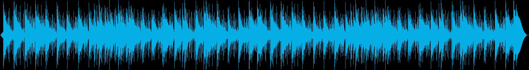 レールの鐘、シンバルのうねり、低音...の再生済みの波形