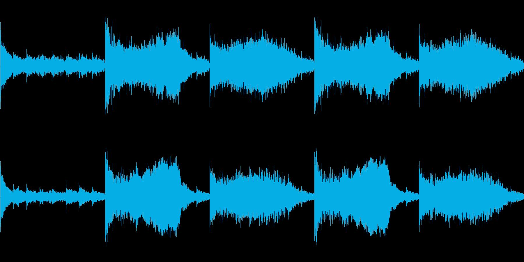 【映画/ホラー/予感】の再生済みの波形