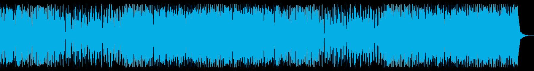 浮遊感&クール切ない女性VoのK-POPの再生済みの波形