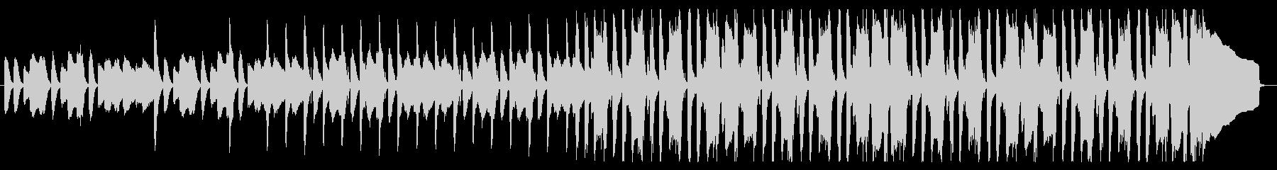 ピアノと木琴の日常BGMの未再生の波形