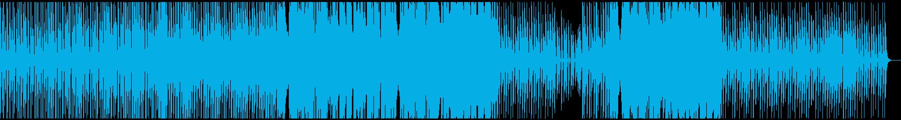 異国情緒の感じる神秘的な曲の再生済みの波形