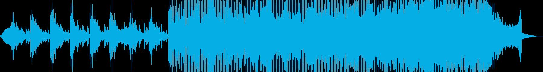 実験的な アクティブ 明るい ゆっ...の再生済みの波形