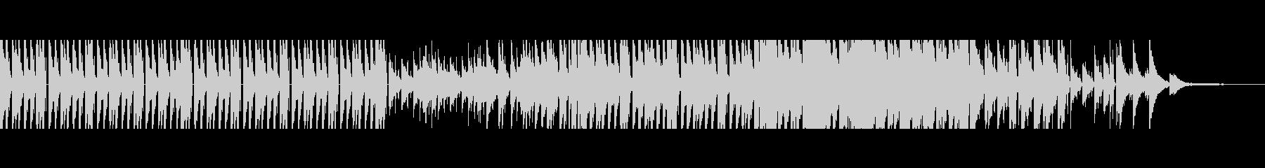 【短Ver4】80年代風洋楽ポップロックの未再生の波形