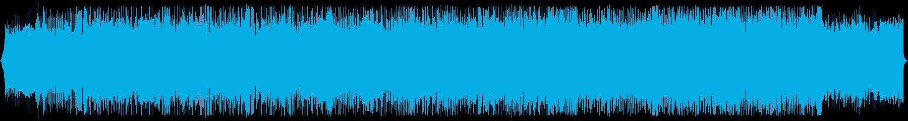 キャッチーで耳に残るシンセウェイヴの再生済みの波形