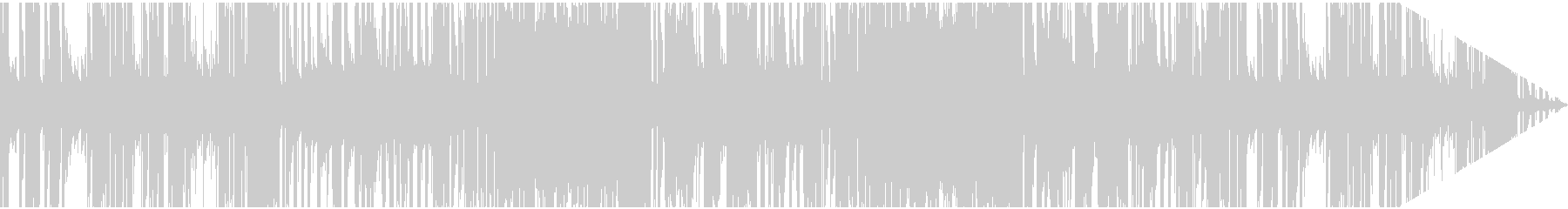ほのぼのとしたレトロジャズ系日常BGMの未再生の波形