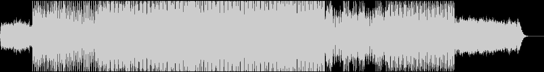EDM系のミディアムなSynthwaveの未再生の波形