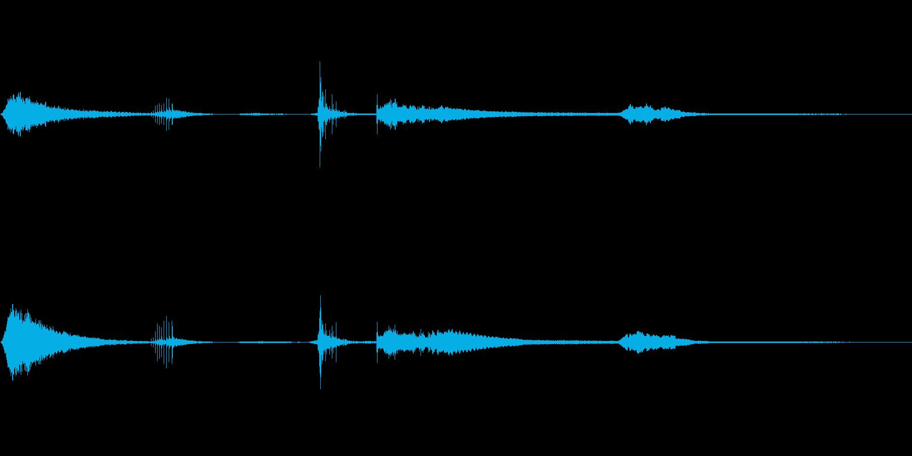 ホラーフォーリーサウンド 恐怖体験の再生済みの波形