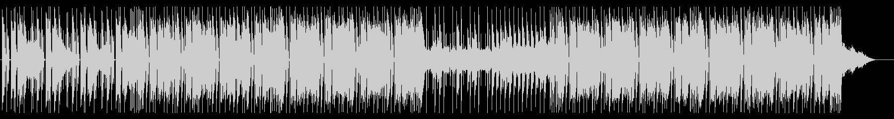 明るい キラキラ 80年代 シンセポップの未再生の波形