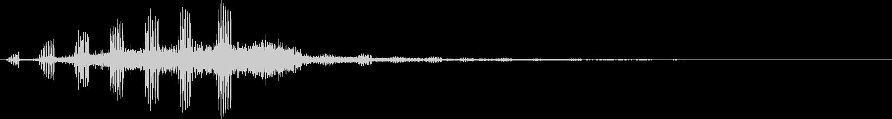 【虫】鈴虫_01の未再生の波形