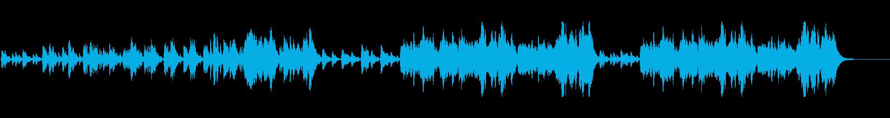 バレエ/ワルツ/明るい/春/1分30秒の再生済みの波形