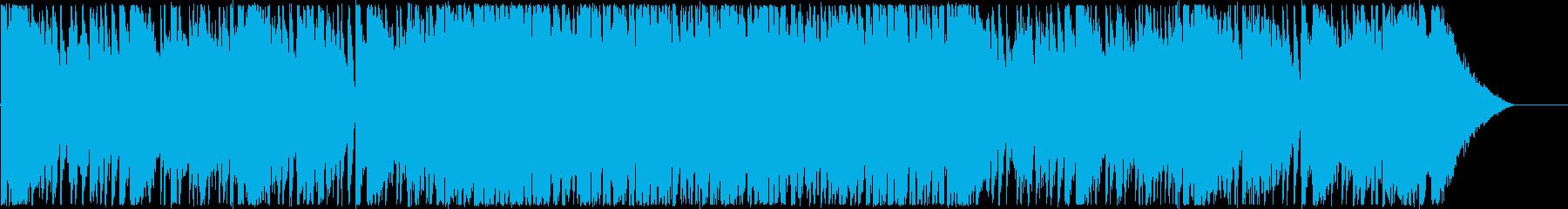 オープニング・楽しい洋楽風女性ボーカルの再生済みの波形