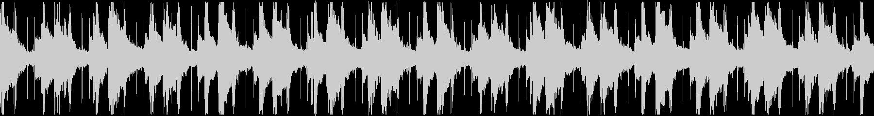 引きずるダウンテンポヒップホップ_ループの未再生の波形