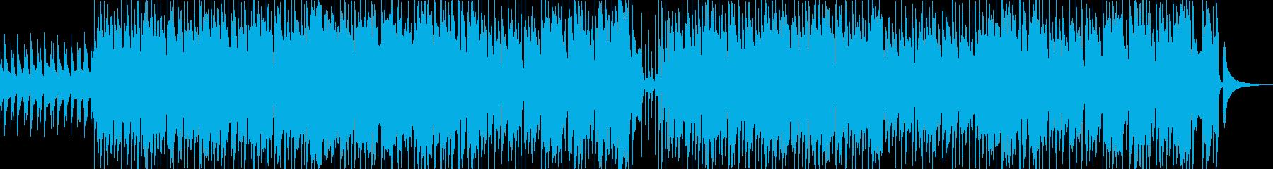 ウクレレと口笛のハッピーなインストの再生済みの波形