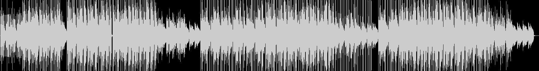 ジャズ風味のあるローファイヒップホップの未再生の波形