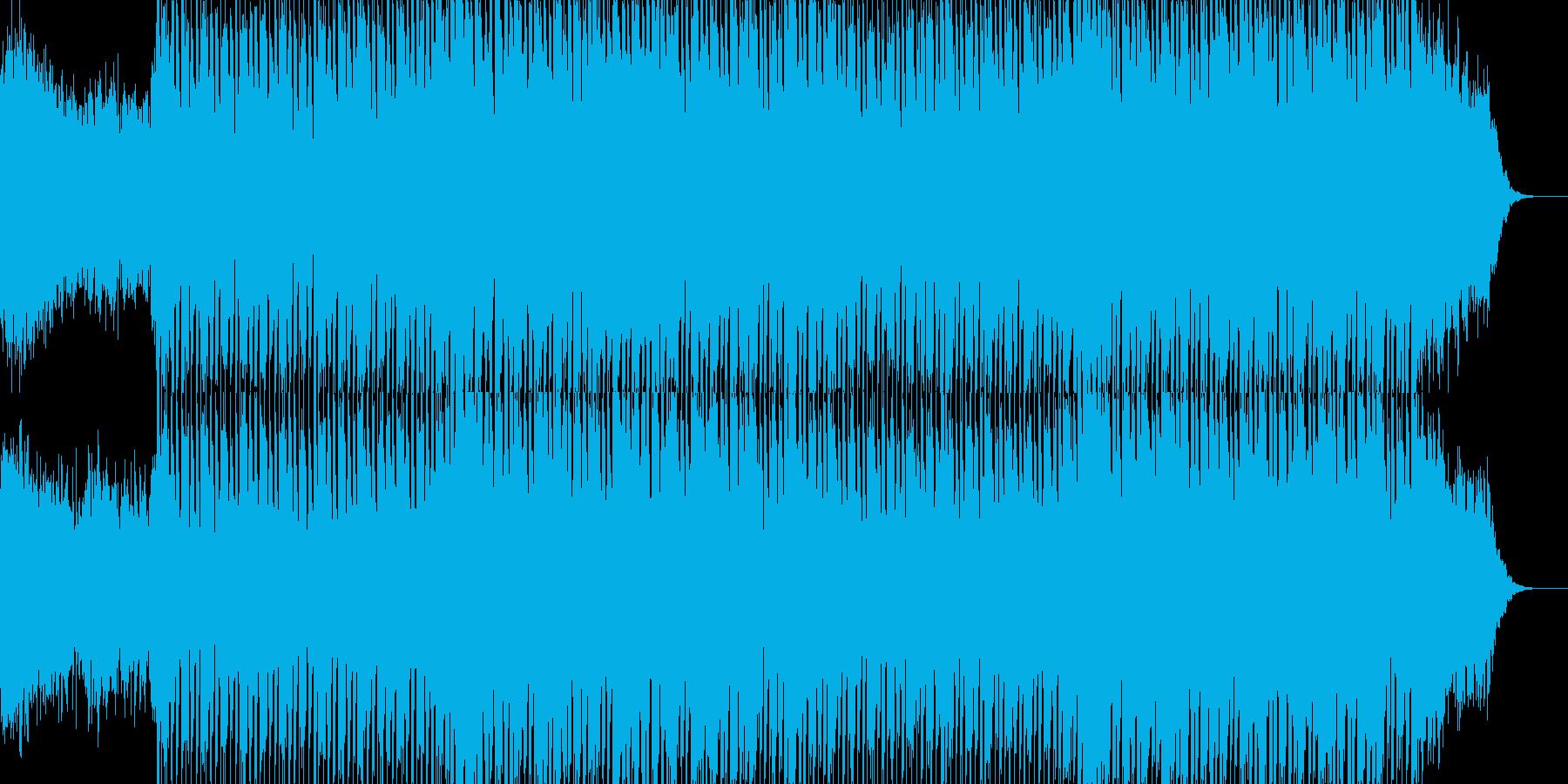 EDMクラブ系ダンスミュージック-83の再生済みの波形