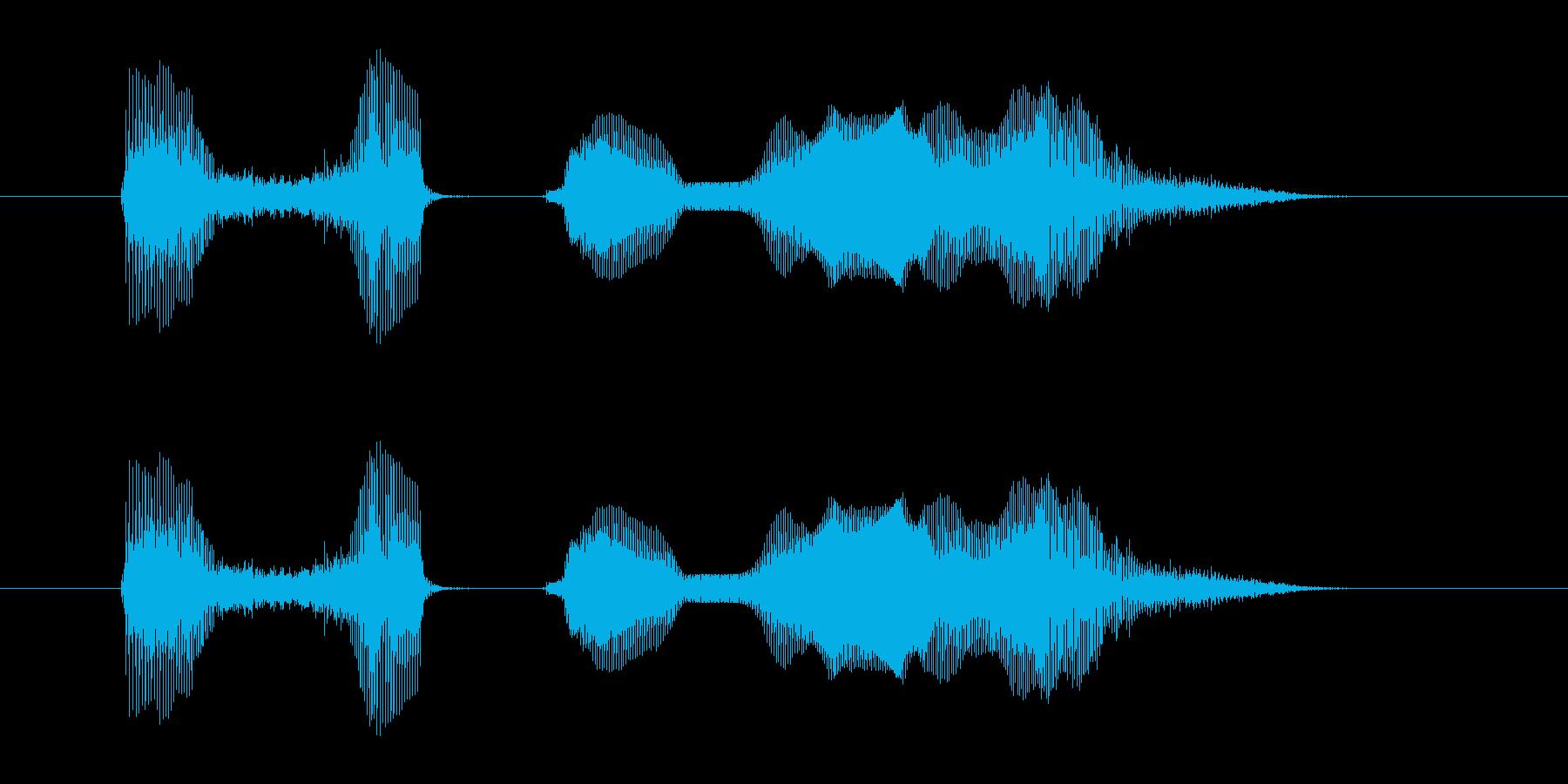 【行事・イベント・挨拶】あ はっぴーに…の再生済みの波形