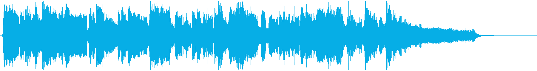 CM向けのオープニング感ある明るいジャズの再生済みの波形