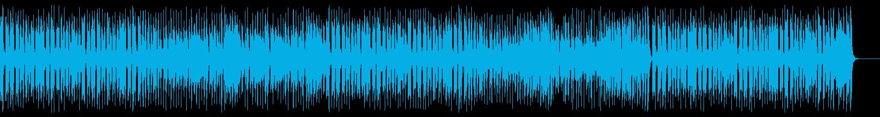 クラリネットとギターが陽気な名曲の再生済みの波形