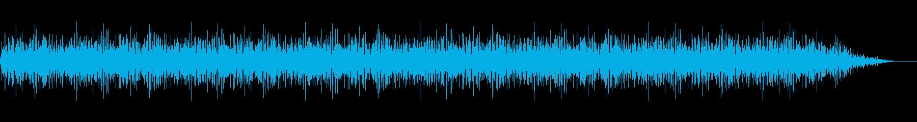 背景音 ホラー 15の再生済みの波形
